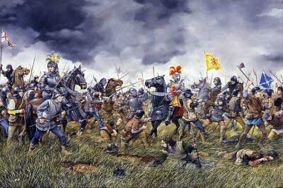 THE BATTLE OF FLODDEN FIELD - 1513