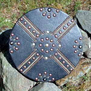 how to make a scottish targe